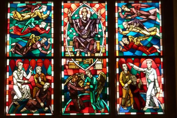 Chorfenster nach der Reparatur
